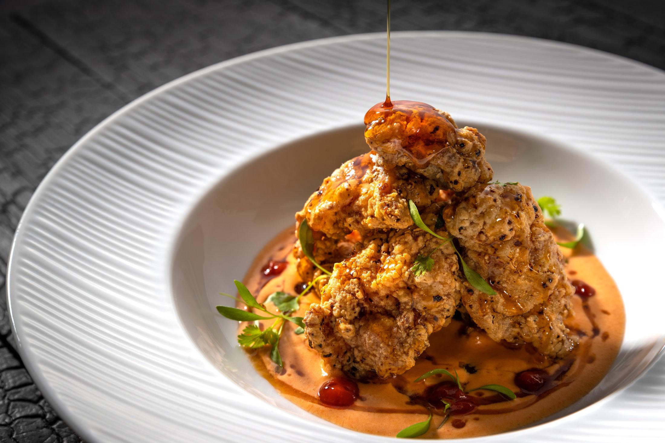 Korean Chicken Oysters