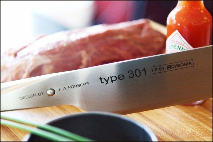 "Chroma P01 Type 301 Chef's Knife, 10"""
