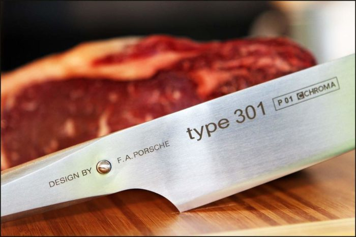 Chroma P01 Type 301 Chef's Knife, 10""