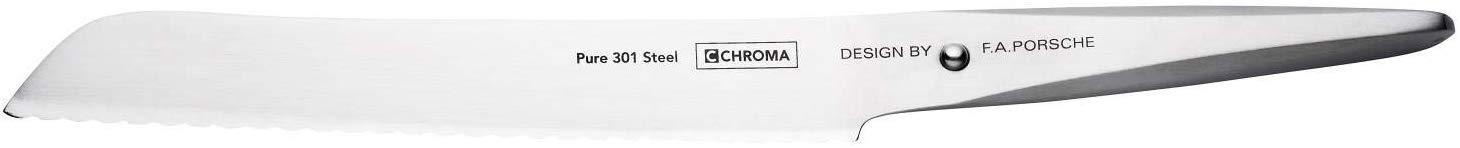 "Chroma P06 Type 301 Bread Knife, 8.5"""
